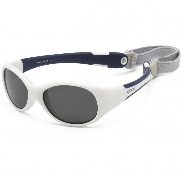 FLEX - Weiß Navy Blau